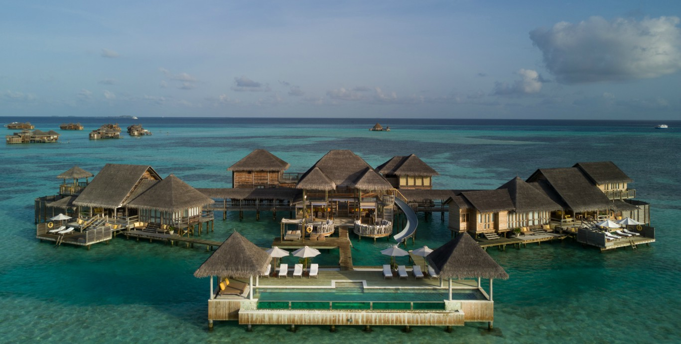The World's Largest Overwater Villa