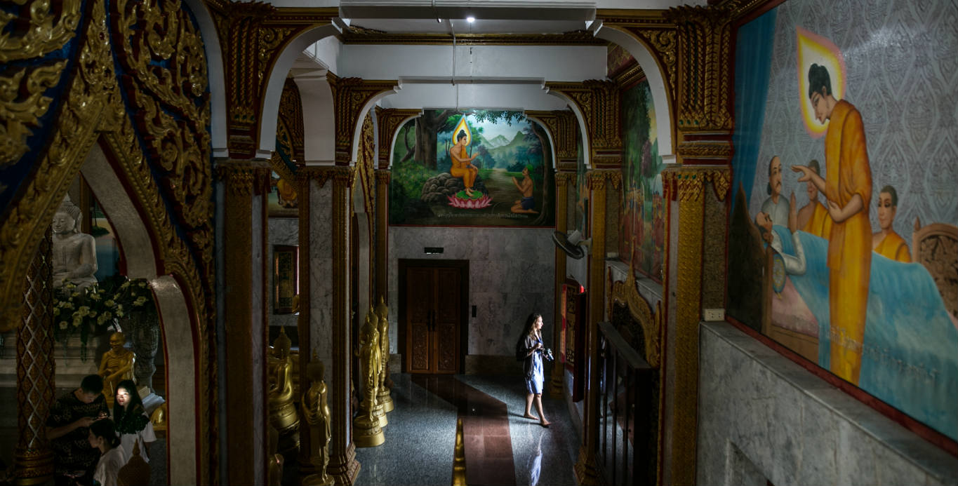 The Way to Enlightenment at Wat Chalong
