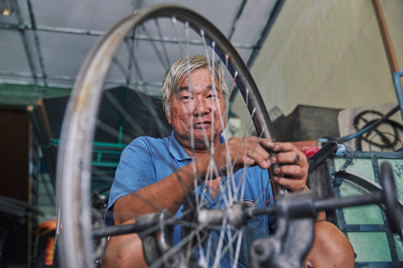 Penang's Disappearing Wheels
