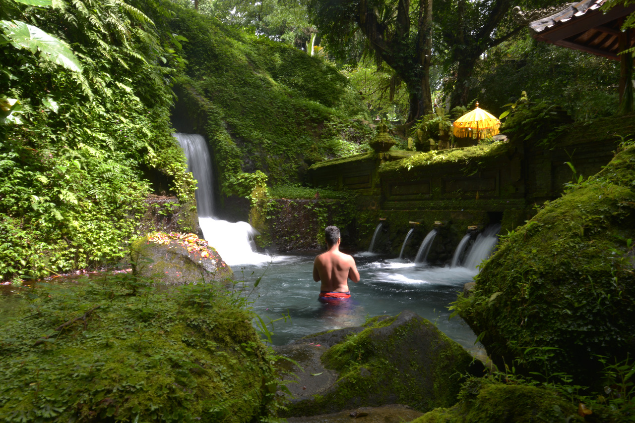 A Ritual Purification Experience in Bali